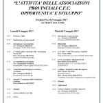 Programma 8 e 9-05-17