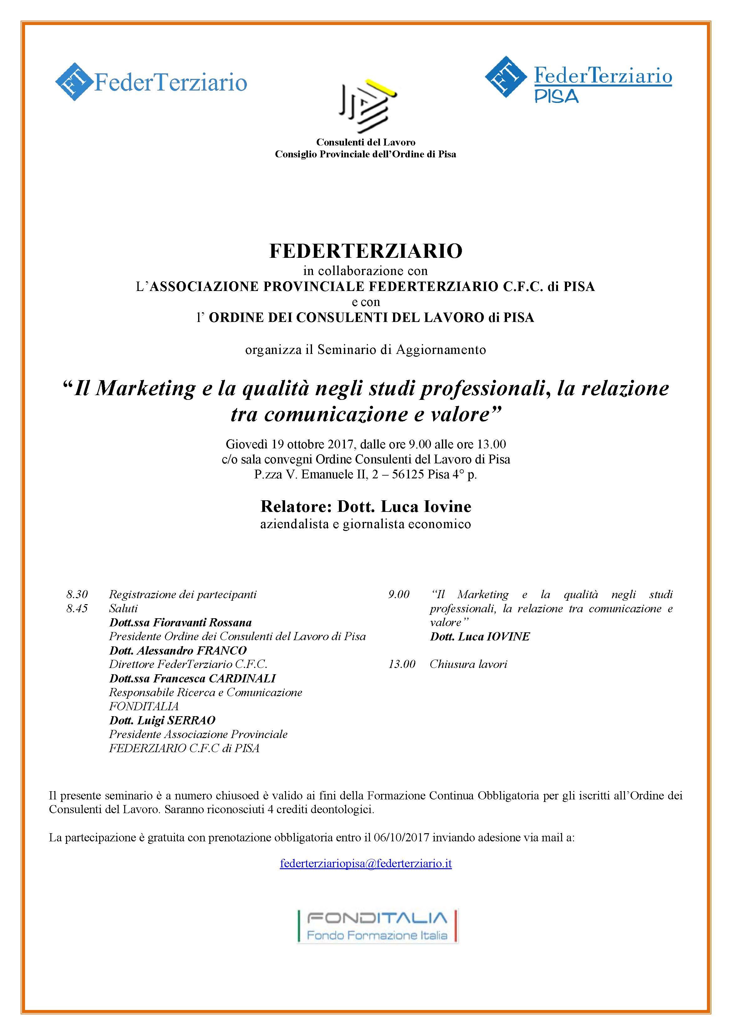 Locandina Pisa 19_10_17